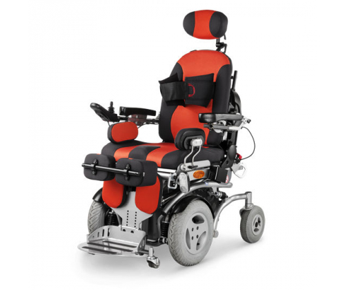 Инвалидная кресло-коляска-вертикализатор с электроприводом NEMO Vertical