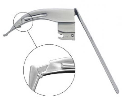 Клинок для сложной интубации Флеплайт Ф.О. (со сменным световодом)