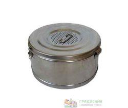 Коробка стерилизационная с фильтром D-6