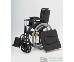 Кресло-коляска с санитарным оснащением Armed Н 011А