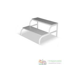 Лестница приставная для стола массажного (под заказ)