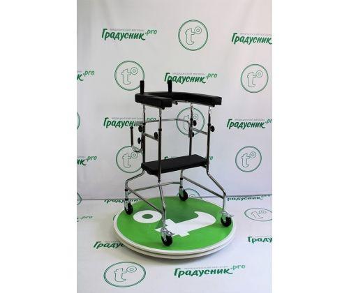 Опоры-ходунки ортопедические на 4 колеса LK 3003 W