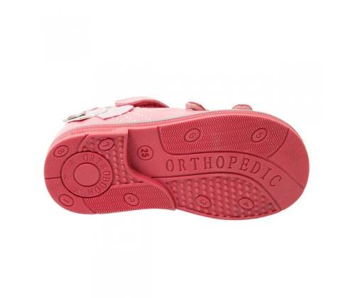 Ортопедические сандалии арт.43397-4 коралловый