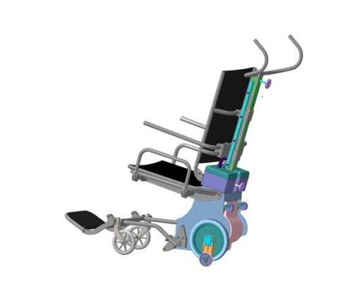 Подъёмник шагающий с интегрированным креслом ЛАМА-УЛП
