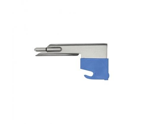 Прямой эконом клинок Миллер С для лампочного ларингоскопа