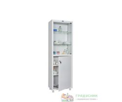 Шкаф медицинский ПРАКТИК MD 1 1760/SG