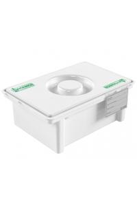 Емкость-контейнер полимерный для дезинфекции и предстерилизационной обработки медицинских изделий ЕДПО-3-02-2