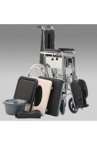 Инвалидное кресло-коляска с санитарным оснащением Armed FS619GC