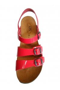 Женские босоножки AFS Lugano красный
