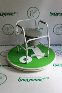 Кресло-туалет с опускающимися подлокотниками (AMCB6807)
