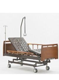 Кровать трехфункциональная c механическим приводом (бук) E-31 ММ-25
