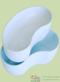 Лоток полимерный почкообразный ЛПпо-0,5 автоклавируемый