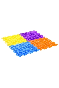 Массажный коврик «Цветные камешки»