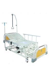 Медицинская кровать с электроприводом DB-11А (MM-55) (4 функции), с туалетным устройством