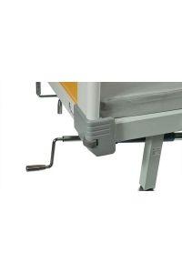 Медицинская механическая кровать E-45B (MM-40), 5 функций, с туалетным устройством