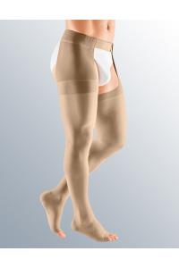 Чулки с застежкой на талии mediven plus мужские, с открытым носком, 2 класс