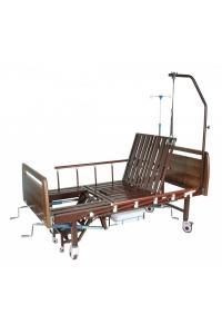 """Механическая медицинская кровать с санитарным оснащением DHC FF-2 с функциями """"кардио-кресло"""" и переворачивания пациента"""