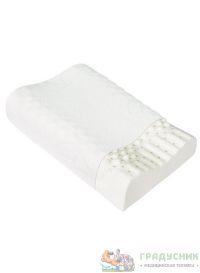 Ортопедическая подушка массажная из натурального латекса «Тривес» ТОП-205