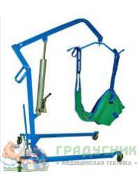 Подъемник передвижной для инвалидов с гидравлическим приводом ИПП-2Г