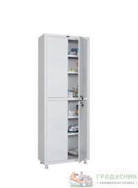 Шкаф медицинский ПРАКТИК MD 2 1670/SS