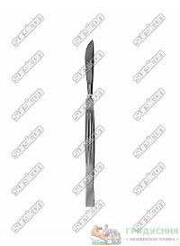 Скальпель брюшистый, средний «Surgicon» J-15-017