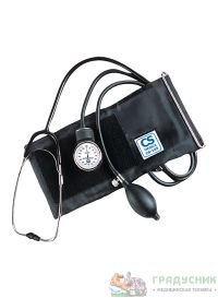 Тонометр механический, со встроенным в манжету  стетоскопом CS Medica CS-105