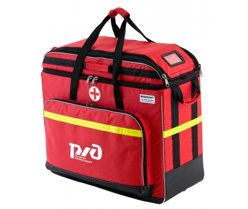 Укладка для оказания первой помощи пострадавшим на железнодорожном транспорте УППРЖД-01-«Медплант»