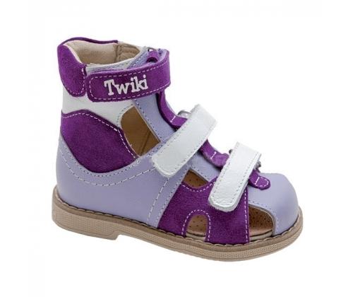 Высокие сандалеты с жестким задником и с закрытым носком TW-271-1